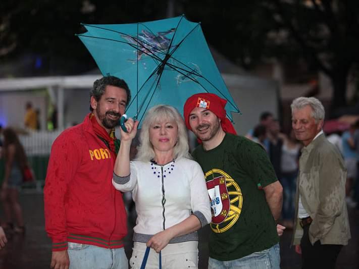 Mais uma foto com portugueses