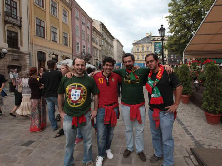 Portugueses em Lviv