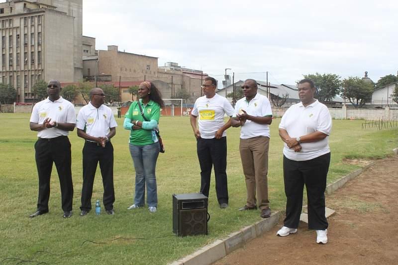 Apresentação Plantel 2014 Ferroviário de Maputo