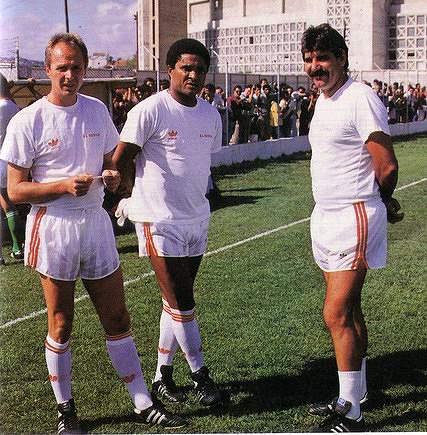 Eusébio, Toni e Erikson