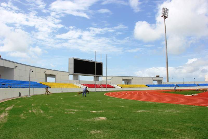 Estádio Nacional conta com ecrã gigante