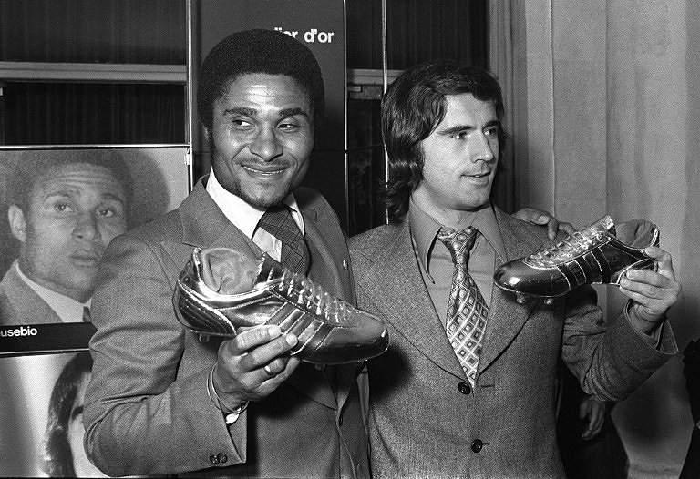 Eusébio e Gerd Muller (1973)