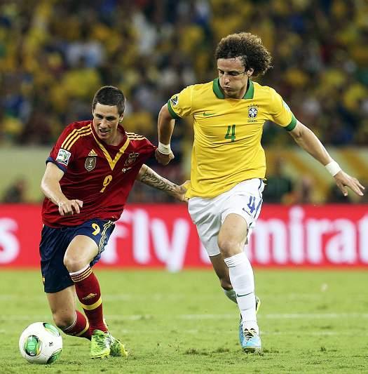 Brasil-Espanha: Conf. Cup