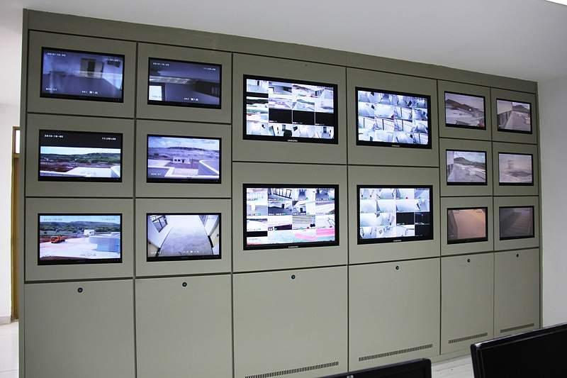 Estádio Nacional | Sala de monitorização