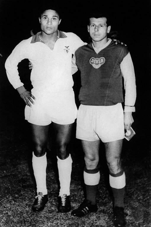 Eusébio e Josep Masoput (1963)
