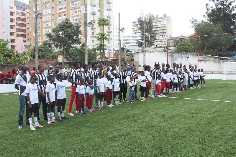Apresentação Plantel 2014 Desportivo Maputo