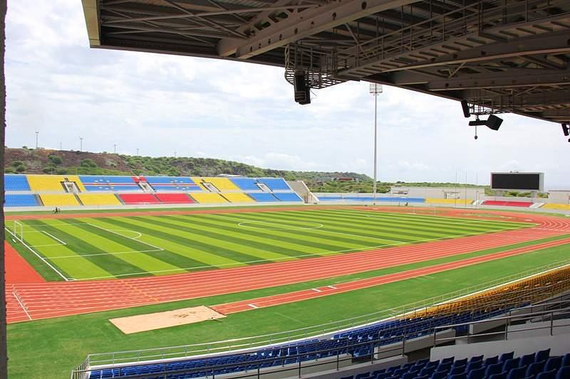 Estádio Nacional | Espaço coberto p/ 5 mil pesso