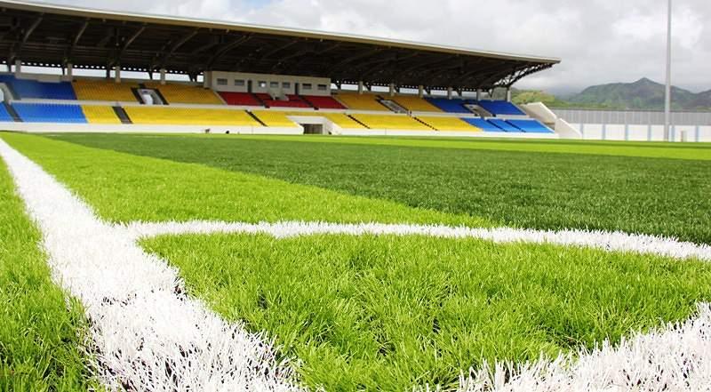 O relvado do Estádio Nacional é sintético