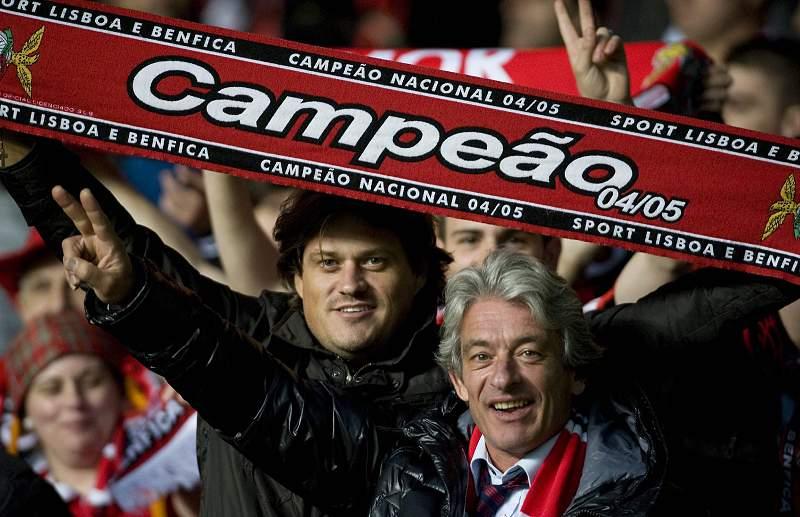 Adeptos do Benfica na Escócia