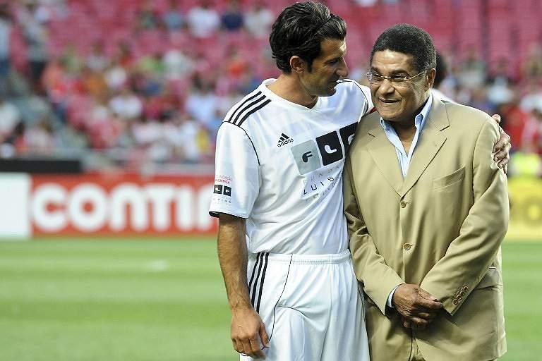 Eusébio e Figo (2012)
