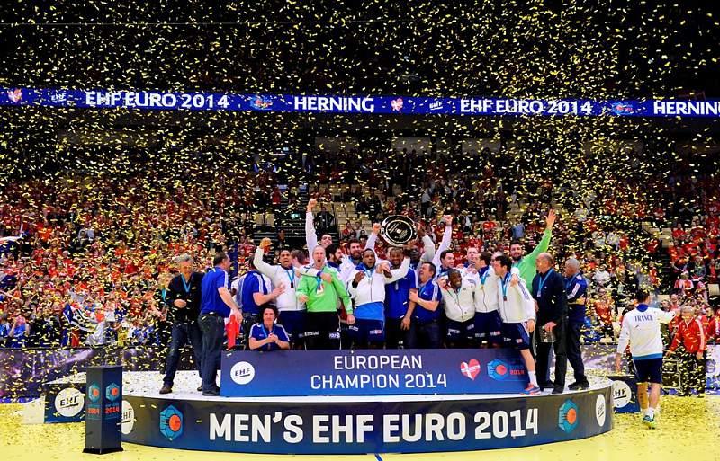 França campeã europeia pela 3.ª vez