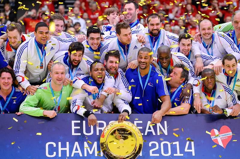 França campeã europeia de andebol