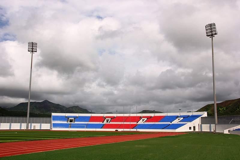Estádio Nacional tem lotação de 15 mil lugares