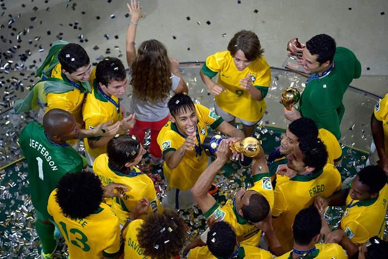 A festa brasileira na Taça das Confederações01