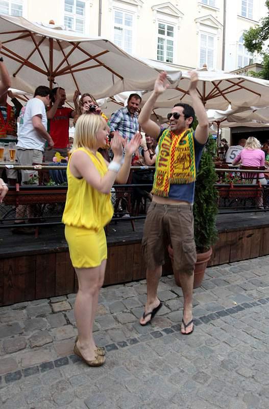 Portugal em festa em Lviv