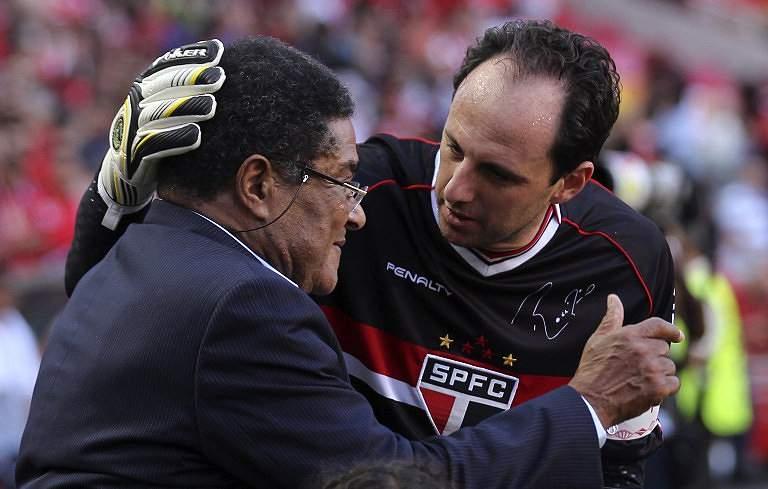Eusébio e Rogério Ceni (2013)