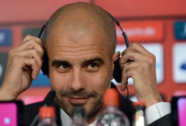 Pep Guardiola no Bayern