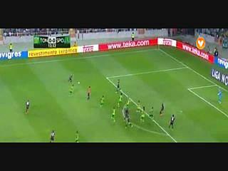 Sporting, Jogada, Carrillo, 13m
