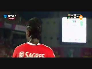 Sporting, Jogada, Carlos Mané, 75m