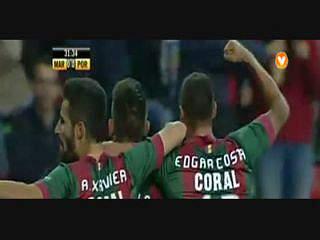 Marítimo, Golo, Bruno Gallo, 32m, 1-0