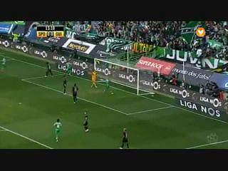 Sporting, Golo, João Mário, 14m, 1-0