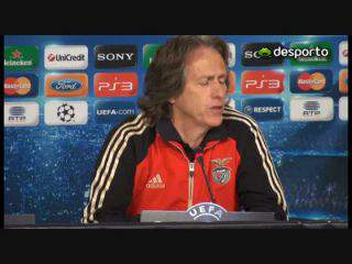 Jorge Jesus: «Tem de ser um Benfica forte»