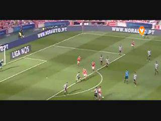 Benfica, Jogada, Eliseu, 47m