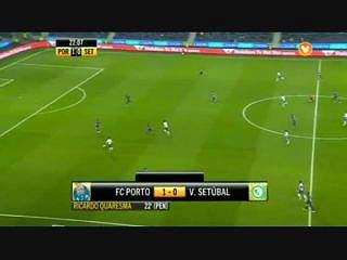 Liga (14ª J): Resumo FC Porto 4-0 V.Setúbal