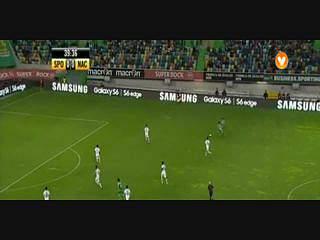 Sporting, Jogada, Montero, 39m