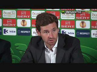Villas-Boas dedica vitória a Guardiola e Mourinho