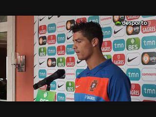 Ronaldo: «Motivação tem de estar no máximo»