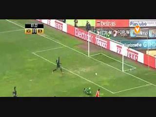 Benfica, Golo, Gaítan, 8m, 0-1