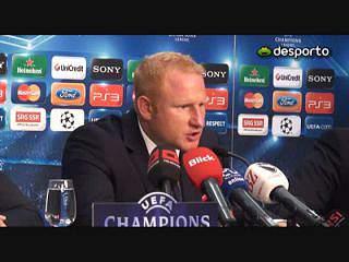 Vogel «Levámos o Benfica aos limites»