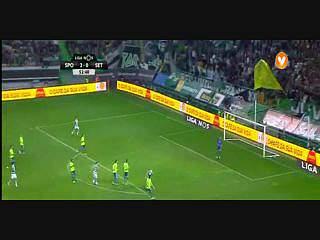 Sporting, Jogada, Adrien Silva, 53m