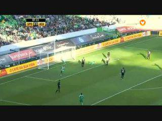Sporting, Jogada, Montero, 7m