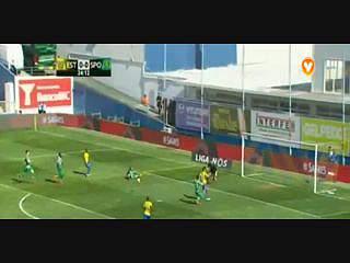 Estoril, Golo, Sebá, 25m, 1-0