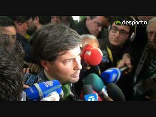 Bruno de Carvalho: «Dedico a vitória aos sportinguistas»