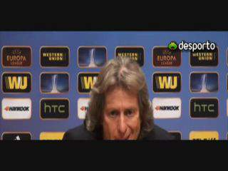 Jesus «Benfica foi melhor que o Chelsea»