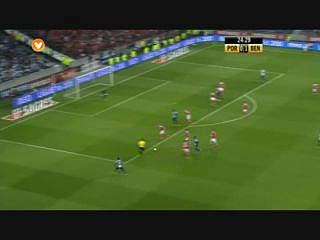 FC Porto, Golo, Maxi Pereira (p.b.), 24m, 1-1