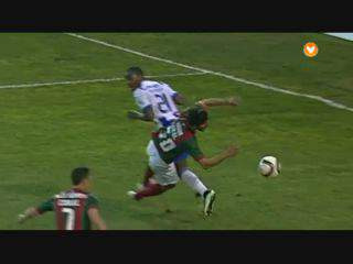 Marítimo, Golo, Bruno Gallo (g.p.), 36m, 1-1