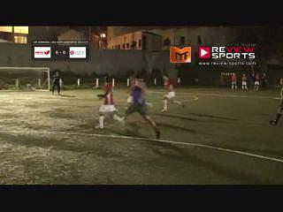 Boa finalização de Pedro Duarte no primeiro golo do jogo