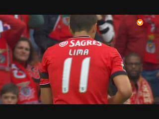 Liga (28.ª J): Resumo Benfica 2-0 Olhanense