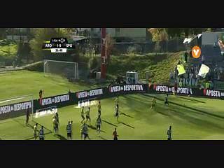 Sporting, Jogada, Bas Dost, 28m