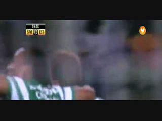 Liga (15ª J): Resumo Sporting 3-0 Estoril