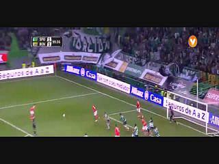 Benfica, Jogada, Gaitán, 99m