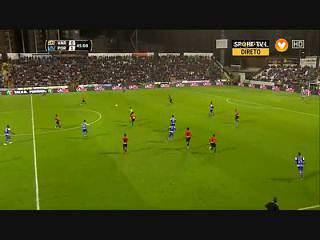 FC Porto, Jogada, P. Osvaldo, 45m