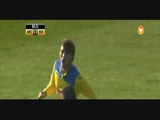 Arouca, Golo, Iuri Medeiros, 7m, 1-0