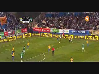 Sporting, Jogada, Slimani, 48m
