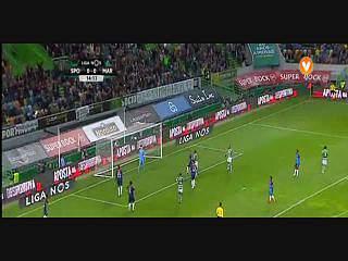 Sporting, Jogada, Bryan Ruiz, 15m