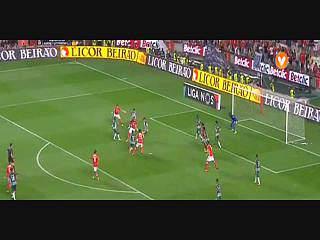 Benfica, Jogada, Carrillo, 76m